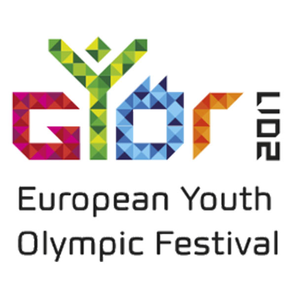 Gyor 2017 Summer European Youth Olympic Festival logo