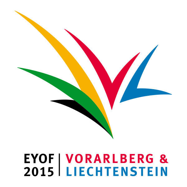 Vorarlberg-Liechtenstein 2015 European Winter Youth Olympic Festival logo
