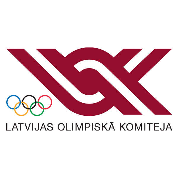 Latvia National Olympic Committee logo