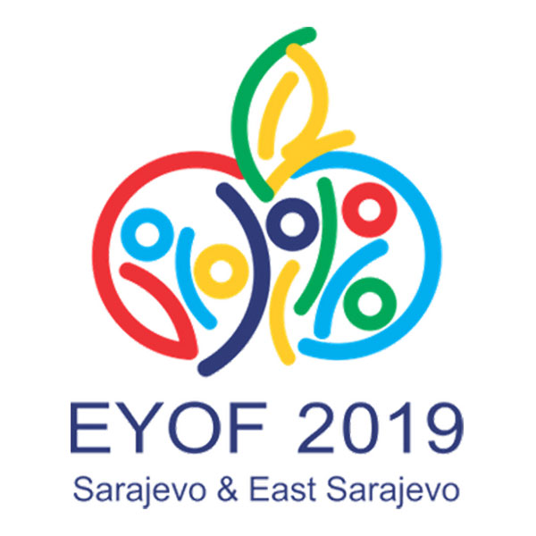 Sarajevo 2019 European Winter Youth Olympic Festival logo